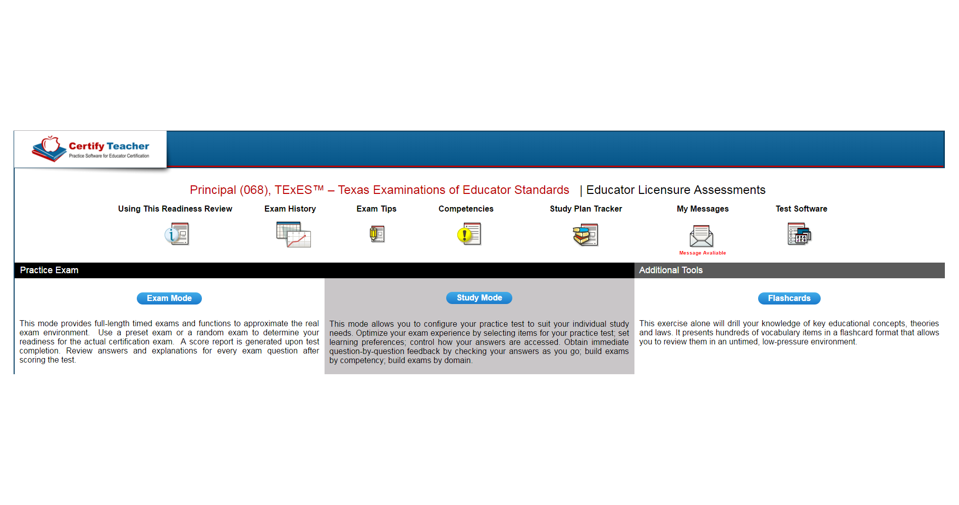 Products Detail [ Certify Teacher ]
